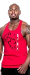 312R  Red Tank Top With Flex Design