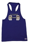 312R  Navy Tank Top with Versa Power-Lift-Barbell