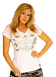 Ladies V-Neck (330)