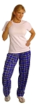 Style 500 Classic Blue Plaid  Baggy Pants  (Just Arrived)