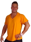 New Style 680V orange, summer cool, light weight,  Relaxed Fit  V-Neck