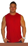 Style 325MB Sleeveless Tee Red