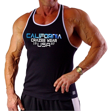 312RC Black Tank Top With WhiteTrim With Versa 1987 USA