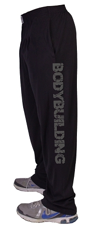 Style 500 Classic Black w/Bodybuilding Down Baggy Pants