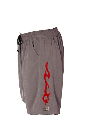 Style 600MS Micro blend grey training shorts