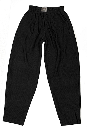 Style 500R Classic Black Corduroy Winter Warm Baggy Pants