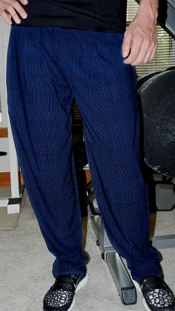 Style 500 Classic Blue Stream Baggy Pants