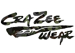 Crazee Wear Design Stickers (Decals)Versa Crazee Wear Camo Logo