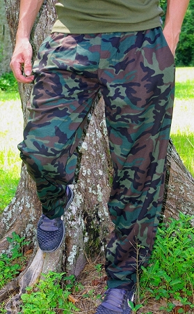 Style 500 Classic Camo Baggy Pants