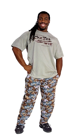 Style 500 Classic Camo Muscle Baggy Pants
