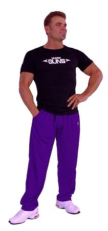 micro fiber pants (brand new to our edition) 600MP (purple)