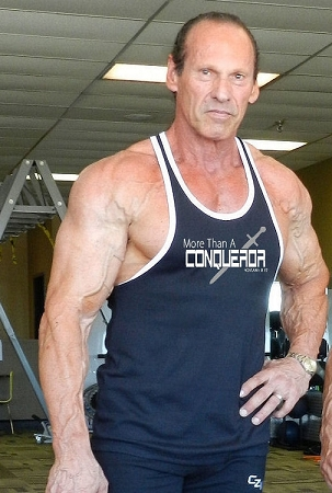 Crazee Wear 312RC Black Rib Stretch Fitted Tank Tops With White Ribbing With More Than a Conqueror