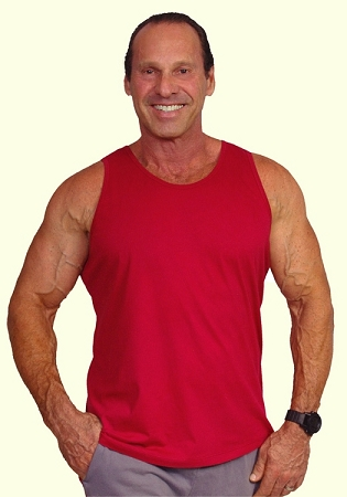 Style 350 New Red CZW Venice Relaxed Fit Tank Top