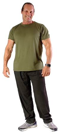 Style 500 Classic Olive Stream Baggy Pants