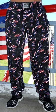 Style 500 Classic Flag Baggy Pants