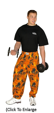 Style 500 Classic Flames Baggy Pants