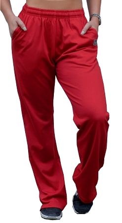 Crazeewear WSP800 Red  Womens Flare Pants
