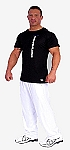 Style 500 Classic Solid White Baggy Pants