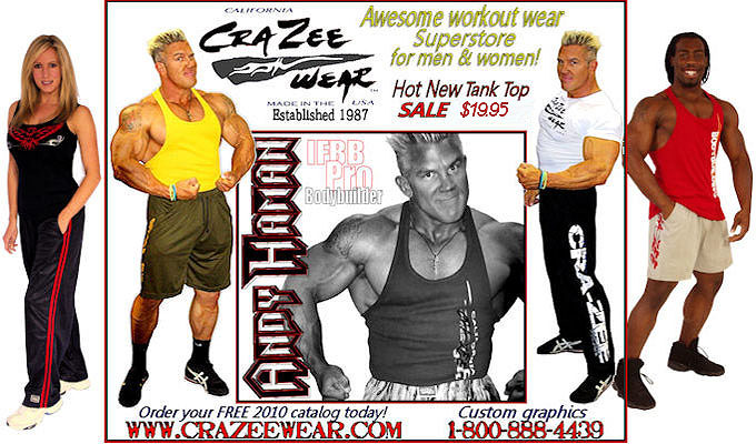 Fitness, Workout, And Bodybuilding Clothing At It s Best