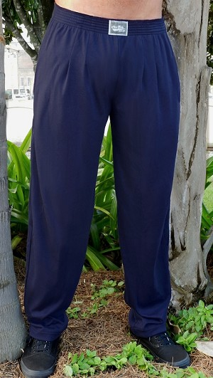 Style 500 Classic Solid Navy Relaxed Fit Soft Baggy Pants For Men And Women