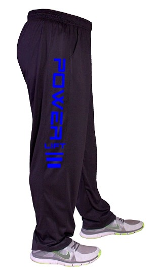 Summer Cool micro fiber pants 600MP Black With Power Lift In Blue