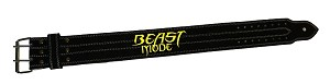 Crazee Workout Belts With Beast Mode In Yellow