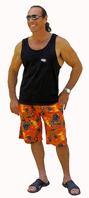 Style 510P Flames Shorts