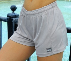 Style 900WS Micro blend grey relaxed fit training shorts