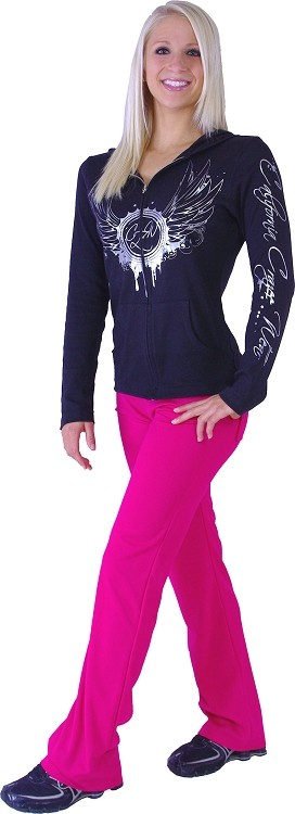 Style 200M Pink Figure Pants Stretchy cool Micro Fiber