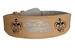 Crazee Workout Belts With Muscle Man Graphics