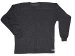 Style 444FT Charcoal Sweat Shirt  Long Sleeve