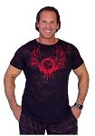 Burnout Tee With  Red CZW Wing