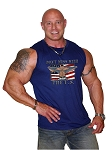 Style 325MB Sleeveless Tee (Navy/Solid)With Versa Don