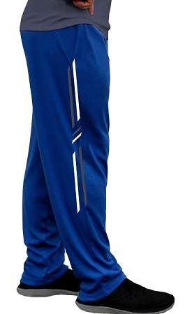 Style 500 Classic Pacific Blue Soft Baggy Pants For Men And Women With Symmetry Pattern
