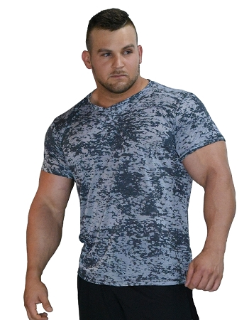 Burnout  Stress Washed Charcoal/Grey Shirt