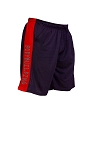 Style 600MS Micro blend black/Red training shorts With Bodybuilding