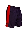 Style 600MS Micro blend black/Red training shorts With Muscle Man