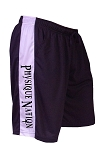 Style 600MS Micro blend black/White training shorts With Physique Nation