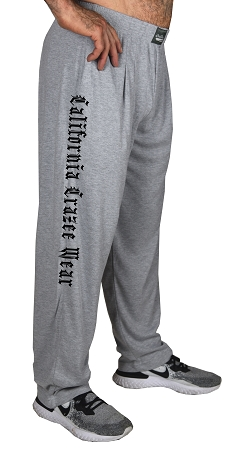 Classic New Heather Grey Relaxed Fit Baggy Pants With CCW Design For Men And Women