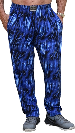 Style 500 Classic Blue Tide Relaxed Fit Baggy Pants For Men And Women