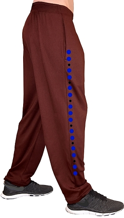 Style 500 Classic Brown/blue/black Universal Designed Relaxed Fit Soft Baggy Pants For Men And Women