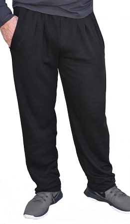 Style 500R Classic Black Corduroy Winter Warm Relaxed Fit Baggy Pants