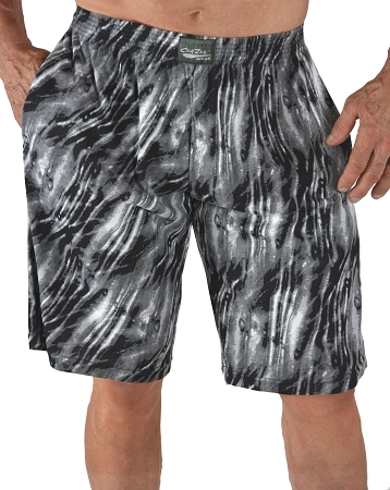 Style 510P Classic Black Tide Baggy Shorts