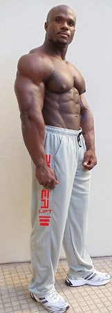 Summer Cool micro fiber pants 600MP  Grey with Power Lift Design In Red