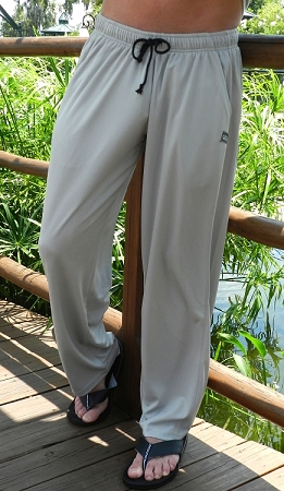 Summer Cool micro fiber pants Solid Grey