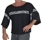 Vintage Rag Top In Black With Athletic Graphics
