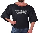 Vintage Rag Top In Black With Grey America Strong Design