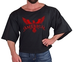 Vintage Rag Top In Black With Red Built In America Design