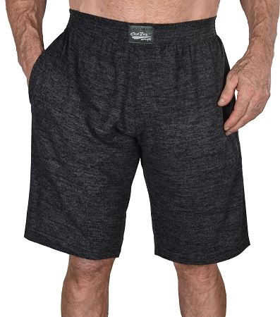 Style 510P Classic Heather Black/Charcoal Baggy Shorts