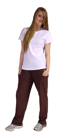 Style MSP800 Brown  Cargo Pants 2